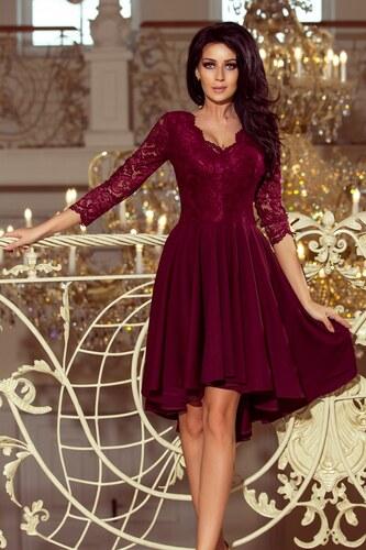 251c23e4298c Numoco Dámské společenské šaty Numoco 123484 fialové - fialová ...