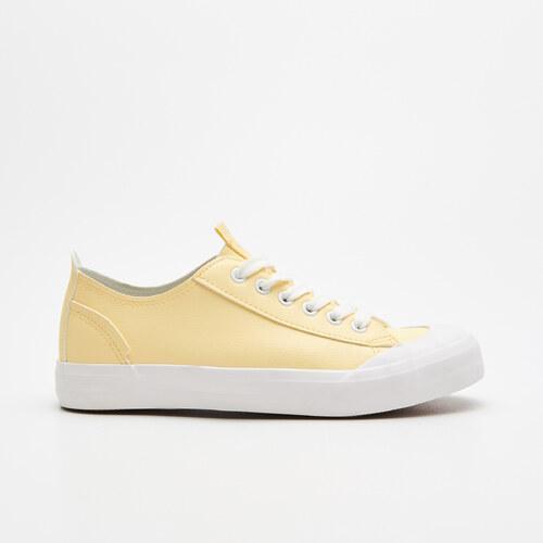 810b347c53 Cropp - Műbőr tornacipő - Sárga - Glami.hu