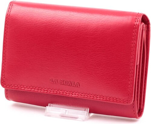 8a020493ad1e La Scala piros női bőr pénztárca - Glami.hu