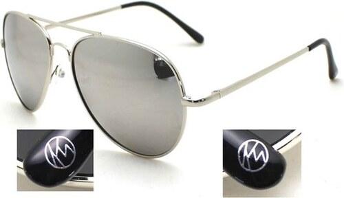 7f4598f53 KAYTIE WU KW slnečné okuliare Ibiza - so striebornými zrkadlovými šošovkami