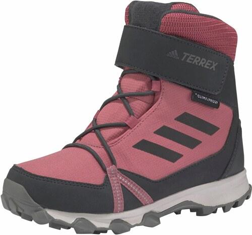 79b3089b554c8 adidas Performance Turistická obuv »TERREX SNOW CF CP C G« růžová-šedá