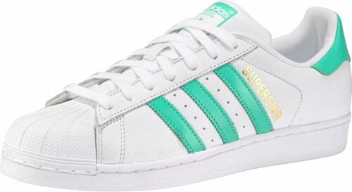 49ebb2c04f3f Nové adidas Originals Tenisky »Superstar Unisex« biela-svetlozelená