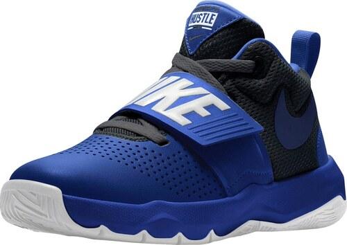 838448f916dcb Nike Basketbalová obuv »Team Hustle D 8 (GS)« král'ovská modrá ...