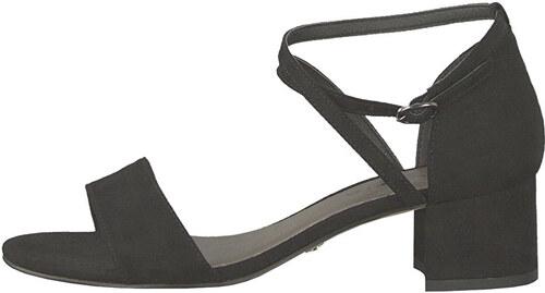 c13870383f961 Tamaris Dámske sandále 1-1-28237-22-004 Black Suede - Glami.sk