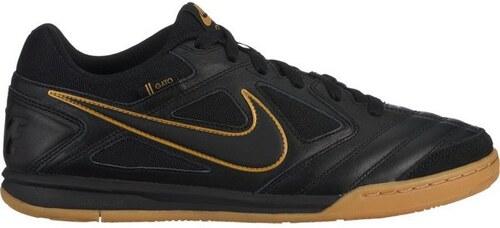 4d740f37842db Pánské boty Nike SB SB GATO 43 black/black-metallic gold-gum yellow ...