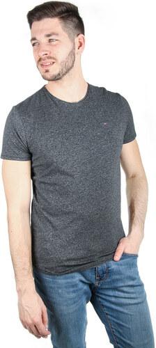 fc66873850 Tommy Hilfiger pánske čierne tričko Essential - Glami.sk