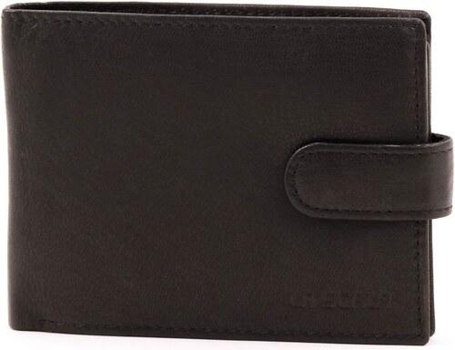 57716e2273 La Scala fekete férfi bőr pénztárca - Glami.hu