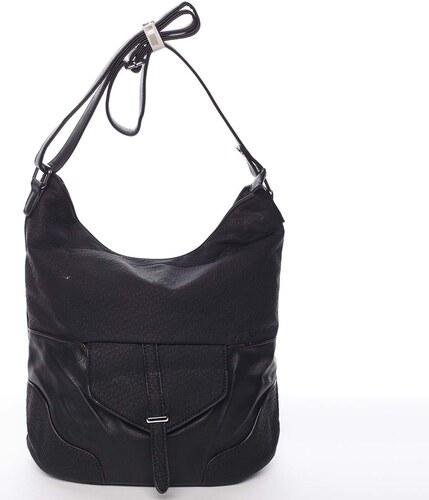 39e9f46c6c Elegantní dámská kabelka přes rameno černá - Silvia Rosa Yahaira čierna