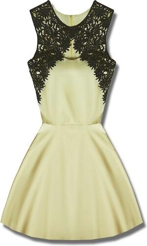 69185d98cd MODOVO Elegáns női ruha sárga - Glami.hu