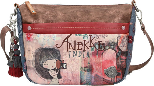0e022eed74 Anekke farebná kabelka India s vreckami - Glami.sk