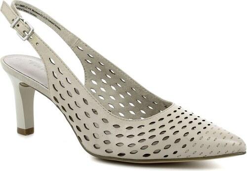 70ccb860a5 Dámska kožená sling obuv Tamaris - Glami.sk