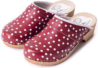 0fa03371742c Vlnka manufacture s.r.o. Dámské ortopedické dřeváky Spring Puntík Velikost  obuv dospělí 36