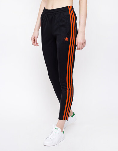 1a20cf4d03ac14 adidas Originals SST Track Pants Black/Craft Orange - Glami.cz
