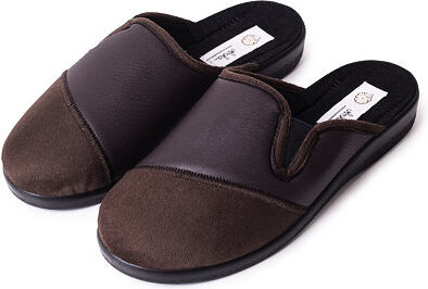 cfb66f7b9b51 Vlnka manufacture s.r.o. Pánské kožené celoroční pantofle Hnědá Velikost  obuv dospělé  41