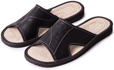 812ec4fa6d1a Vlnka manufacture s.r.o. Pánske letné kožené šľapky ortopedické bez špice  Veľkosti obuvi - dospelí  41