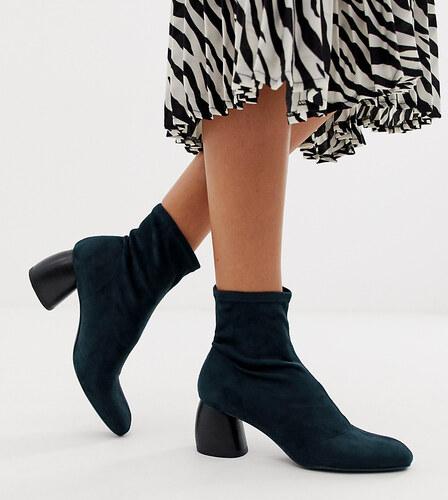 01ac80f019 Bershka faux suede sock boot in indigo blue - Blue - Glami.hu