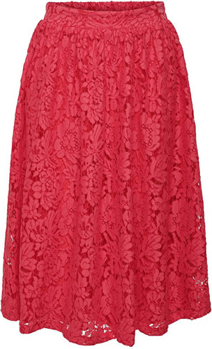 9b4090e35ee7 ONLY Dámská sukně Skylar Midi Skirt Wvn Geranium - Glami.cz
