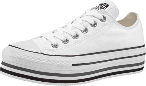 00ea8c3d59 Converse Tenisky na platforme »Chuck Taylor All Star Platform Layer«  biela-čierna