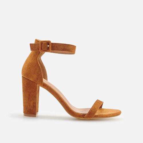 613203c39a00 Reserved Ženske sandale - smeđa - Glami.hr