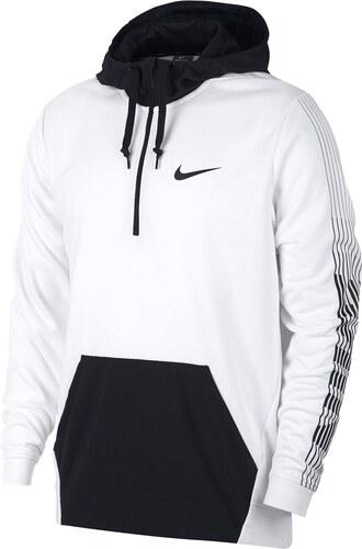 2c6d93e503 mikina Nike Dry Hoodie pánská White Black - Glami.cz