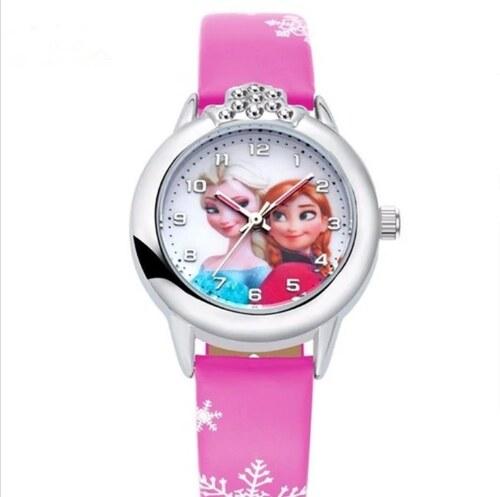b2c856b93 Načančaná.cz Dětské hodinky Anna a Elsa Frozen - Glami.cz