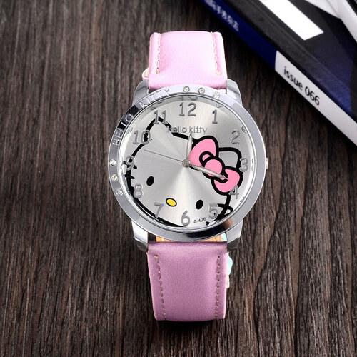 e257db169 Načančaná.cz Dětské růžové hodinky Hello Kitty - Glami.cz