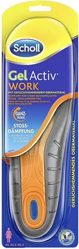8580121c9e055 Scholl Gél Active Gélové vložky do topánok Work dámske 1 pár - Glami.sk