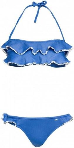2d5e52c34a76 Pepe Jeans dámské plavky Holmes XL modrá - Glami.cz