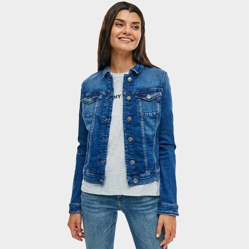 583621cac8 Tommy Hilfiger dámska džínsová bunda Denim - Glami.sk