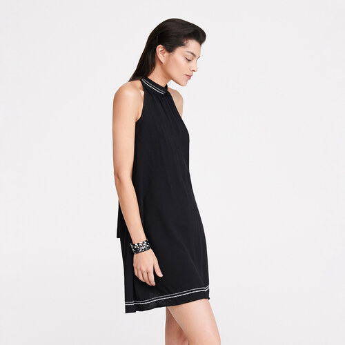 a41759233e Reserved - Nyitott hátú ruha - Fekete - Glami.hu