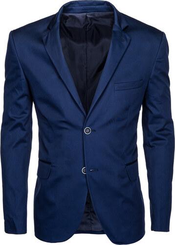 30c4b81e1e82 Ombre Clothing Pánské sako Clooney navy - Glami.cz
