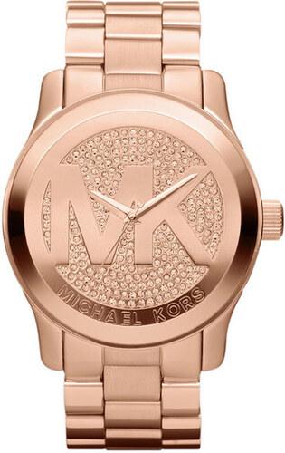 Dámské pozlacené hodinky z ušlechtilé nerezové oceli Michael Kors ... 6e371a5e69