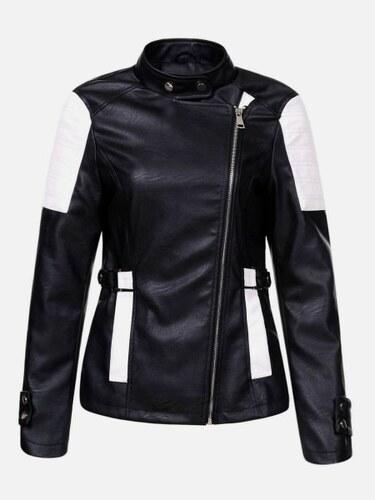 1976a03ce7 KOKAI New Collection Čierna dámska kožená bunda Bulgari - Glami.sk