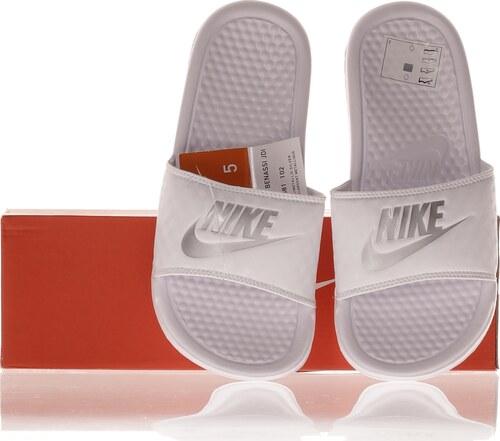 best sneakers 26e2d 1683c -53% Nike Sportovní Dámské Pantofle Bílé