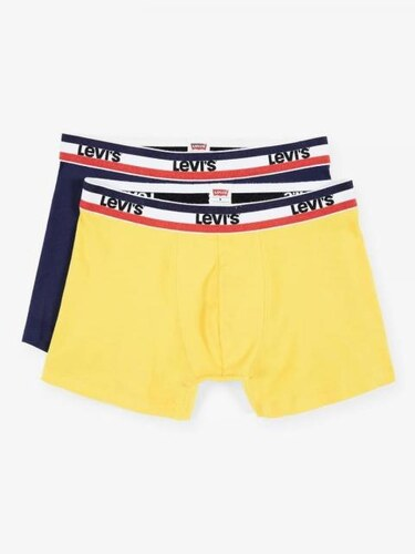 09b8075cb Levi's Levi´s Sportwear Color Boxers Brief 2 Pack Blue/Yellow - Glami.sk