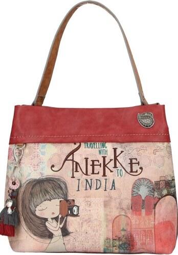 e32df5c06c Anekke farebná kabelka India s denimovými prvkami - Glami.sk