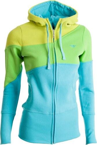 Woox Dámská mikina Gain Sweatshirt Yellow - dle obrázku - 42 + náušnice 25fde4dfcb