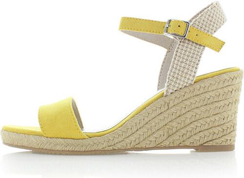 28bfdf5528be6 Tamaris Žlté platformové sandále 1-28300 - Glami.sk