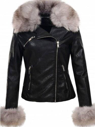 2c1425cfb2 KOKAI New Collection Dámska čierna bunda ROYAL - Glami.sk