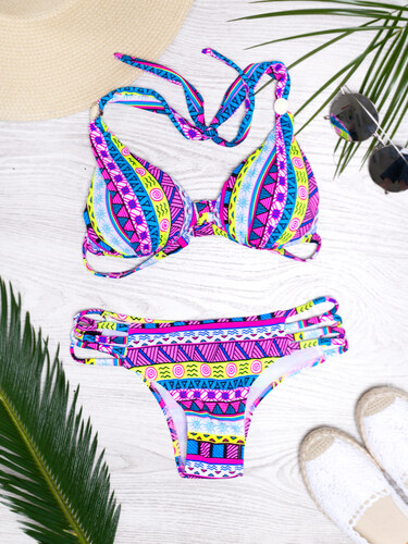 b4374be2c www.glashgirl.sk Farebné vzorované plavky Aztec - Glami.sk