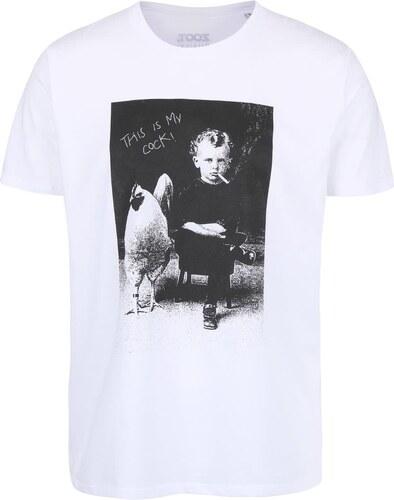 3082a20e84a88 Biele pánske tričko ZOOT Originál This Is My Cock - Glami.sk