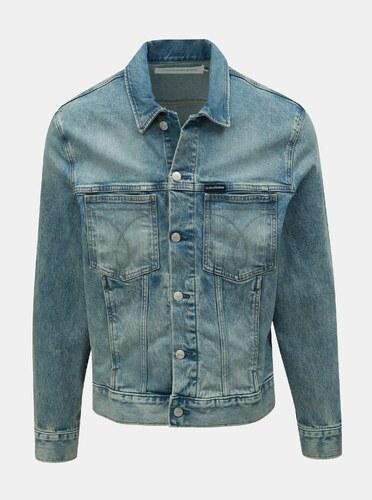 aec353a16 Modrá pánska rifľová bunda Calvin Klein Jeans - Glami.sk
