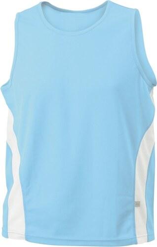 65e50d47fedb1 James & Nicholson Pánske športové tričko bez rukávov JN305 - Glami.sk