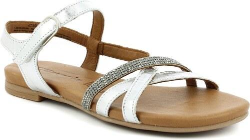 f4e7847096 Dámske kožené sandále Tamaris - Glami.sk