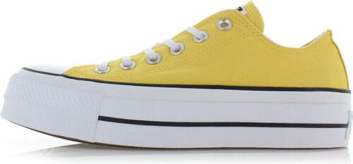 143acc58cd8e Converse Dámske žlté nízke tenisky Chuck Taylor All Star Lift - Glami.sk
