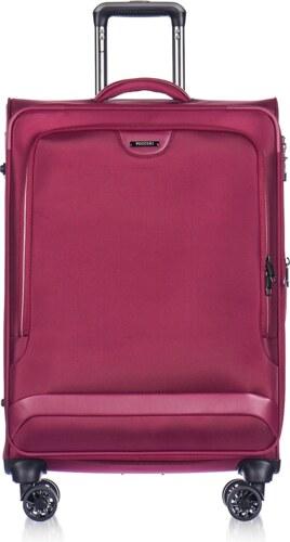 64363708fe PUCCINI Cestovné kufre na kolieskach veľké 122 litrov červený puc-03-9-099