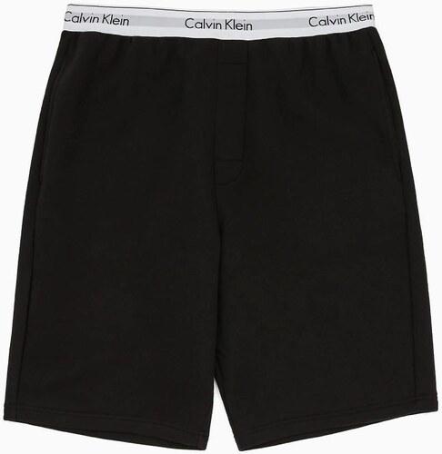 329e1e0d0c Calvin Klein pánske čierne teplákové šortky - Glami.sk