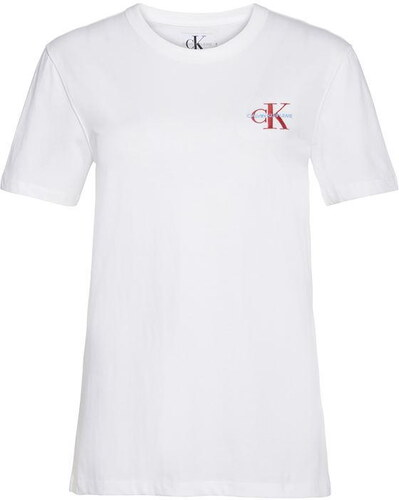 16a49fb20 Dámské tričko s krátkým rukávem CALVIN KLEIN JEANS MONO EMBROIDERED T SHIRT