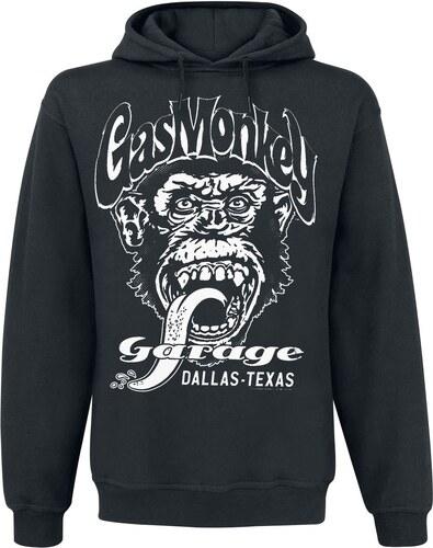 2f1658370d967 Gas Monkey Garage - Dallas Texas - Mikina s kapucňou - čierna - Glami.sk