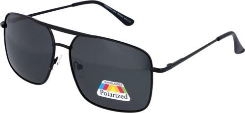 4cfcb1fed Sunmania Polarizačné pilotky okuliare 3364 čierna - Glami.sk